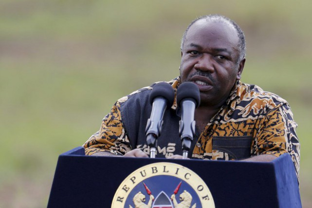 Ali Bongo... (Photo Thomas Mukoya, Reuters)