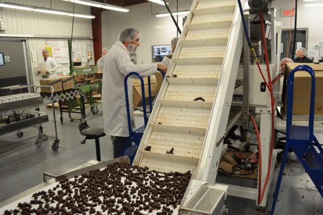 La Chocolaterie des Pères Trappistes a produit un... (Louis Potvin)
