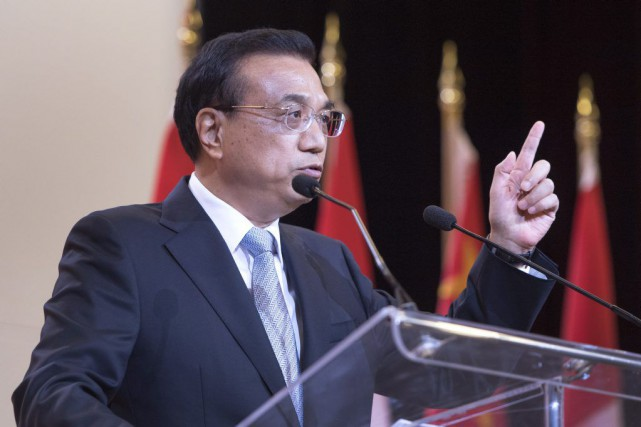 Le premier ministre chinois, Li Keqiang... (Ryan Remiorz, La Presse canadienne)