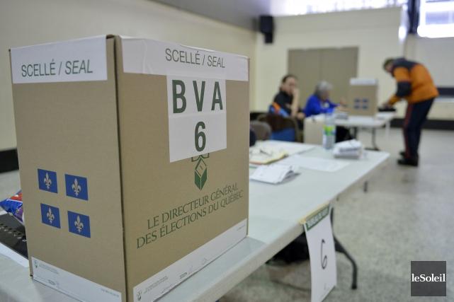Le Directeur général des élections du Québec (DGEQ) vient de lancer un module... (Photo archives Le Soleil)