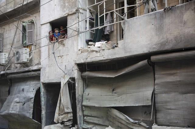 Alep, enjeu clé de la guerre en Syrie... (AFP)
