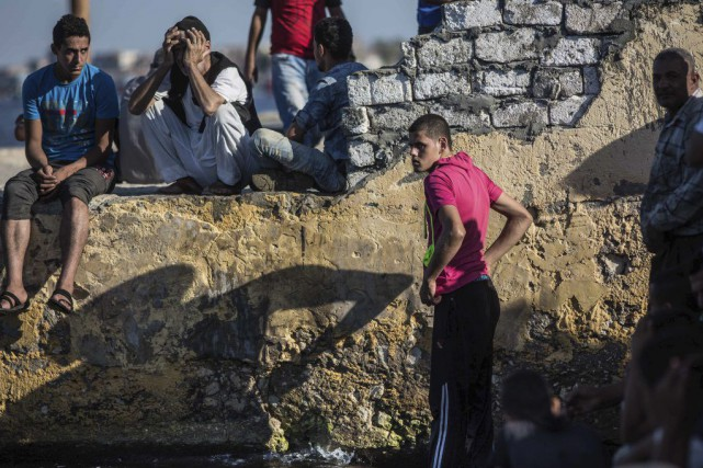 Selon le Haut commissariat aux réfugiés, plus de... (Photo Eman Helal, Archives AP)
