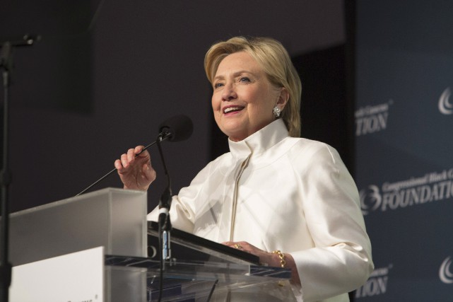 Le New York Times précise qu'il ne soutient pas Hillary... (photo archives AFP, Chris Kleponis)