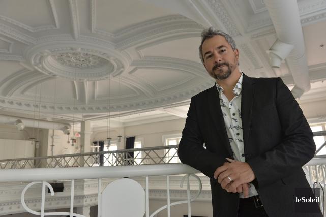 Le directeur général et artistique de La Rotonde,... (Le Soleil, Patrice Laroche)