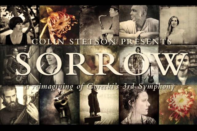 La pochette de l'albumSorrow deColin Stetson...