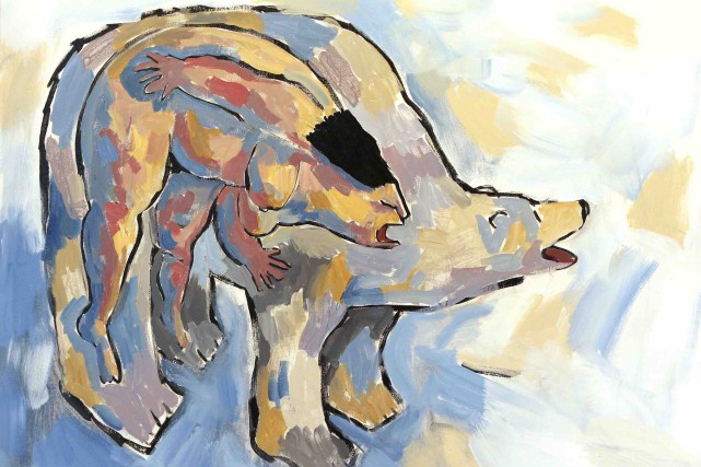 Le cri de l'ours... (Jane Allison Lockhart)
