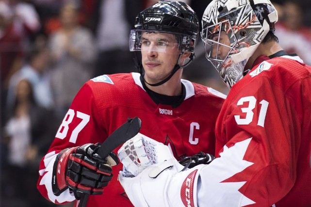 Sidney Crosby et Carey Price... (PHOTO Nathan Denette, PC)