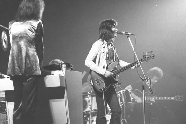 King Crimson à Québec, le 22 mai 1973.... (Archives Le Soleil)