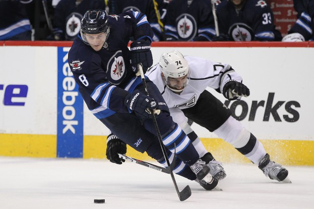 Jacob Trouba... (PHOTO Ray Peters, USA Today Sports)