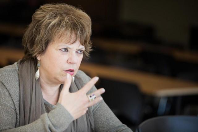 La ministre responsable de l'Éducation supérieure a dit... (PHOTO EDOUARD PLANTE-FRÉCHETTE, LA PRESSE)