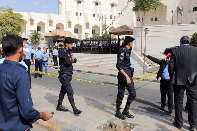 Selon une source des services de sécurité, l'assassin... (PHOTO AHMAD ALAMEEN, AGENCE FRANCE-PRESSE)