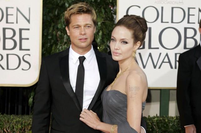 Le couple en 2007, à la cérémonie des... (AP)