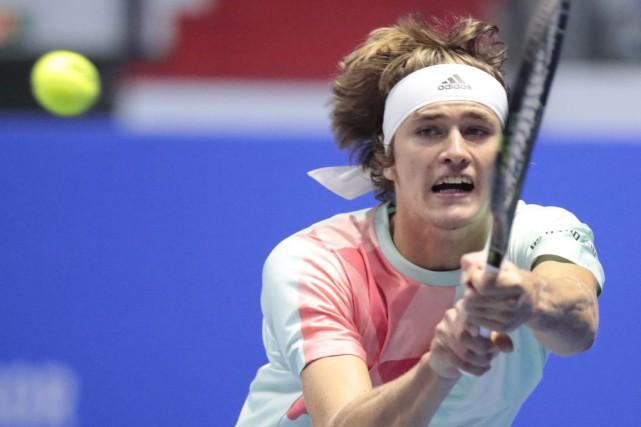 Alexander Zvereva décroché un premier titre en carrière... (Photo Dmitri Lovetsky, AP)