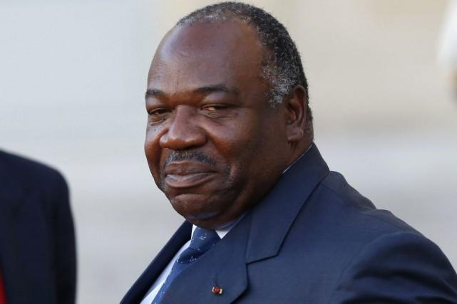La mort du président gabonnais Ali Bongo Ondimba... (Archives AP, Francois Mori)