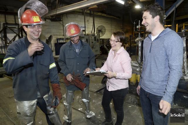 Paber Aluminium est une entreprise familiale dans laquelle... (Le Soleil, Jean-Marie Villeneuve)