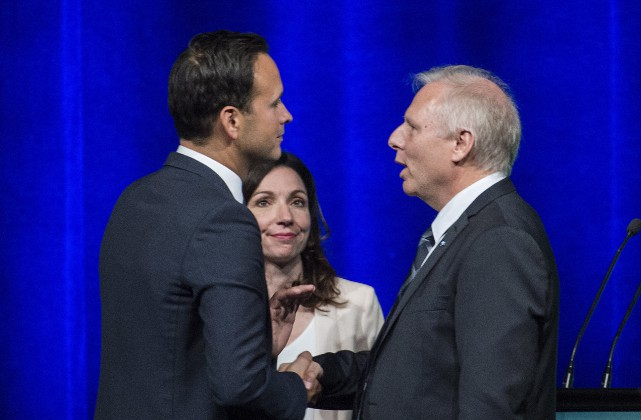 Martine Ouellet a bien défendu son projet hier;... (La Presse canadienne, Graham Hughes)
