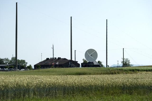 La centrale d'écoute du système de surveillance des... (AP, Peter Schneider)