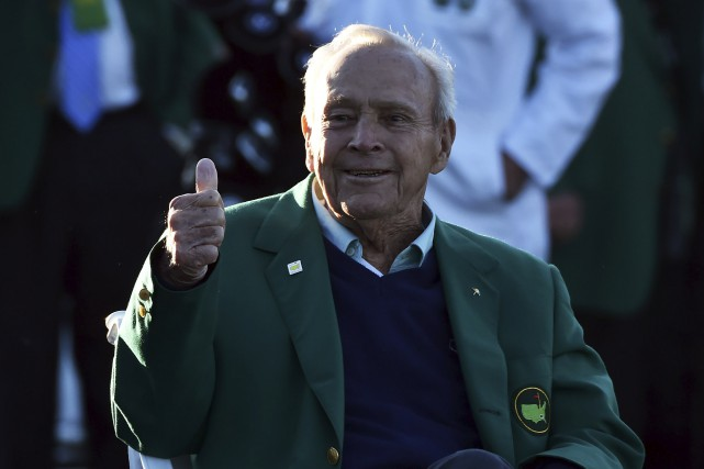 Palmer avait fait sa dernière apparition publique en... (AFP, Nicholas Kamm)