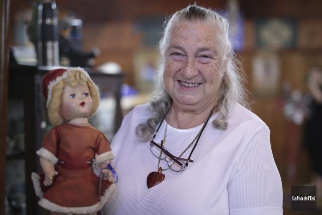 Rita Bouffard a amené un vent de fraîcheur... (Catherine Trudeau, La Voix de l'Est)