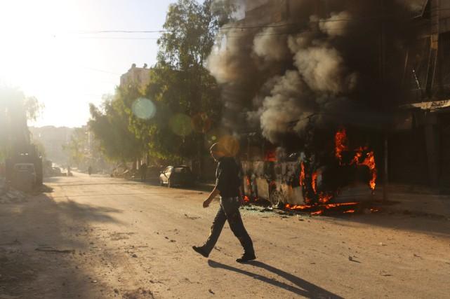 «Nous avons supporté les bombardements ces dernières années... (AFP)