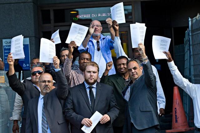Le juge a fini d'entendre les parties dans la cause qui oppose le front commun...