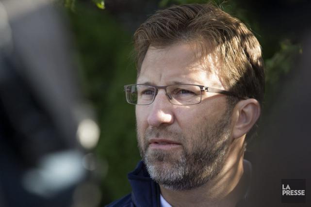 Andrew Wetenhall assure que sa famille n'a pas... (Photo Robert Skinner, La Presse)
