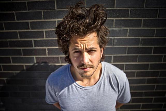 Mathieu Holubowski est en tournée tout l'automne. Il... (PHOTO PATRICK SANFAÇON, LA PRESSE)
