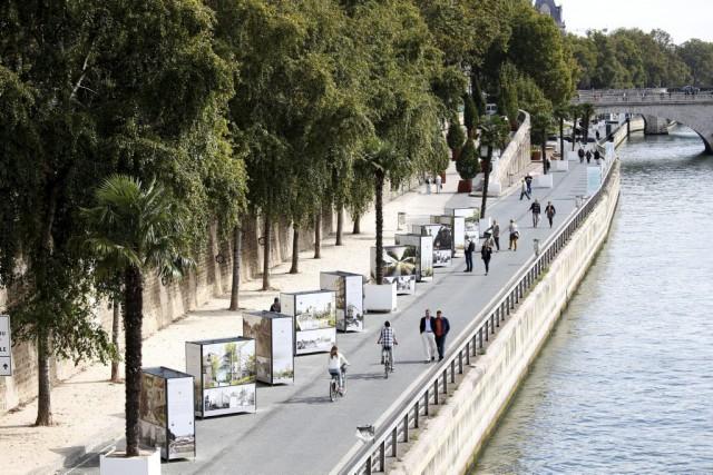 Bucoliques et romantiques, les berges de la Seine, au coeur de Paris, sont... (PHOTO REUTERS)