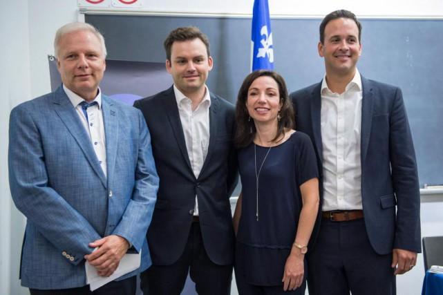 Les candidats à la direction du PQ « savent... (Photo Paul Chiasson, La Presse Canadienne)