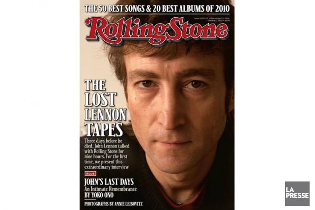 Le numéro du Rolling Stone avec la dernière... (PHOTO ARCHIVES LA PRESSE)
