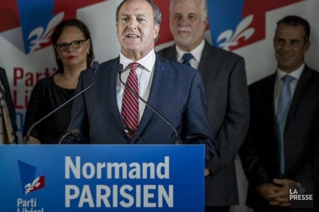 Normand Parisienhabite Montréal, mais assure qu'il a une... (PHOTO MARCO CAMPANOZZI, LA PRESSE)