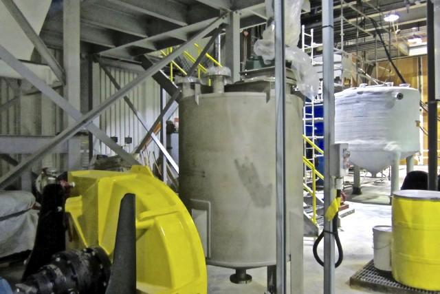 Selon Environnement Vert Plus, l'usine d'Orbite à Cap-Chat... (Collaboration spéciale Johanne Fournier)