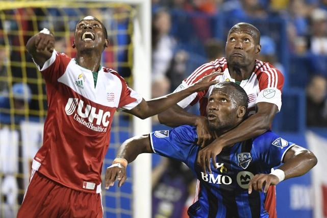 Jusqu'ici en septembre, Didier Drogbaa marqué seulement deux... (PHOTO BERNARD BRAULT, LA PRESSE)