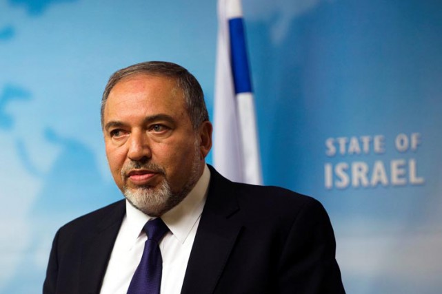 Avigdor Lieberman, chef du parti Israël Beitenou.... (PHOTO archives REUTERS)