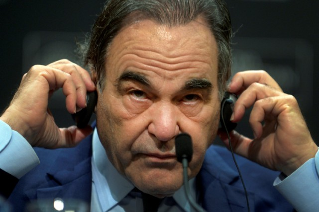 Oliver Stone lors du Festival international du film... (PHOTO REUTERS)