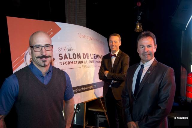 Sur la photo, on aperçoit le directeur du... (Sylvain Mayer, Le Nouvelliste)