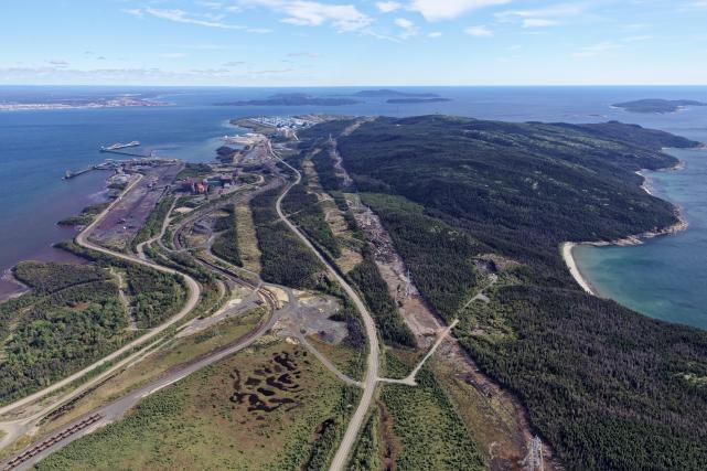 L'achat par Québec des actifs miniers de Cliffs... (fournie par le Port de Sept-Îles)