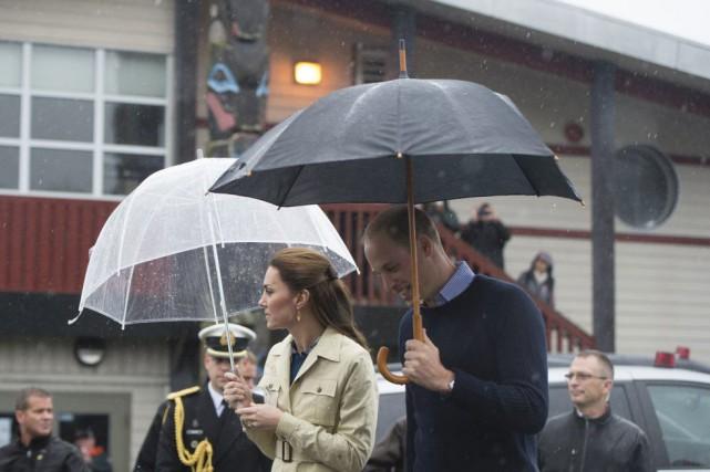 La pluie est venue déjouer les plans du... (Jonathan Hayward, La Presse canadienne)
