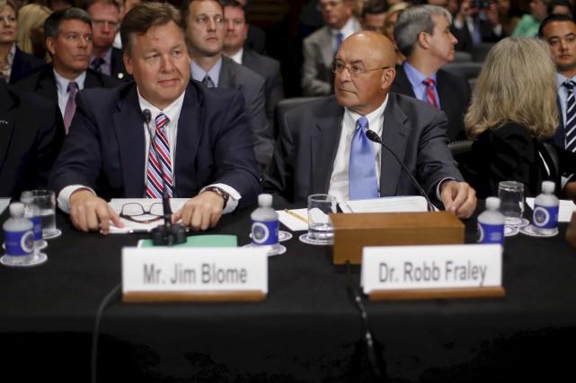 La fusion entre les géants Bayer et Monsanto... (AP)