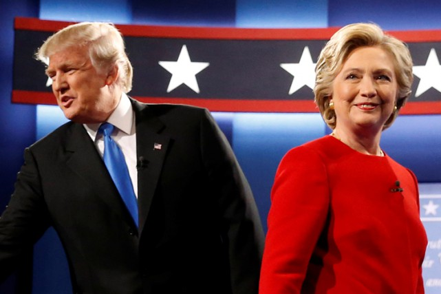 Donald Trump et Hillary Clinton.... (PHOTO archives REUTERS)