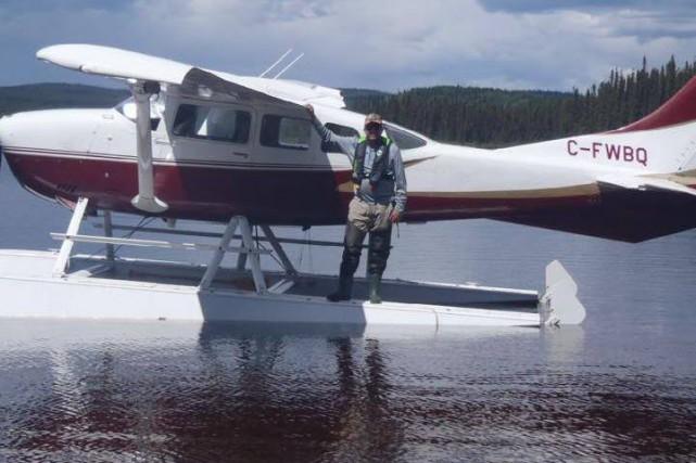 Philippe St-Pierre s'est procuré le Cessna l'an dernier.... (Photo tirée de Facebook)