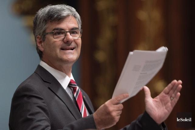 Le député caquiste de La Peltrie, Éric Caire,... (Photothèque Le Soleil)