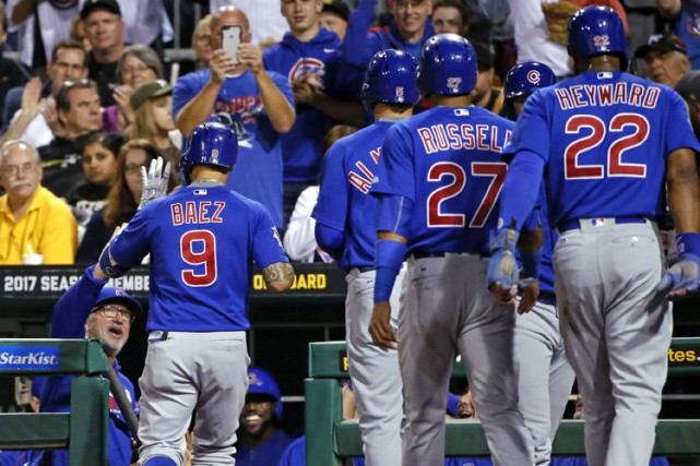 Javier Baez a cogné un grand chelem et produit six points tandis que le meneur... (PHOTO AP)