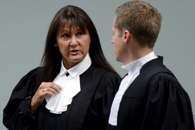 Les deux procureurs de la Couronne dans le... (Photothèque Le Soleil, Erick Labbé)