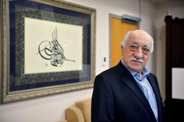 Après l'assassinat de l'émissaire russe, M.Gülen, installé aux... (photo Charles Mostoller, archives REUTERS)