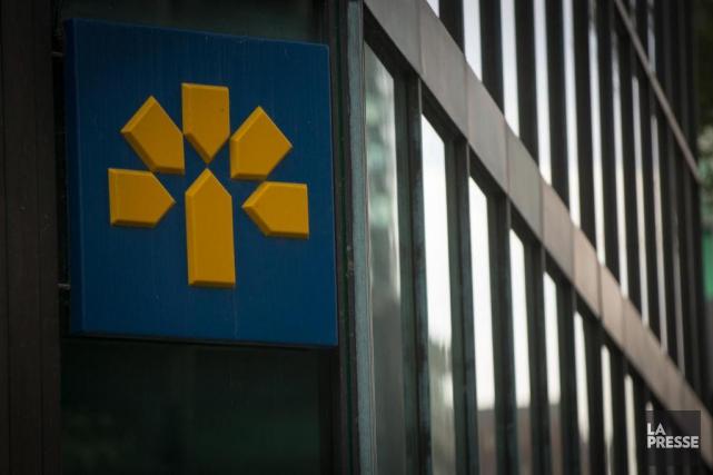 Des syndiqués FTQ de la Banque Laurentienne, où un processus de... (Photo Olivier Jean, archives La Presse)