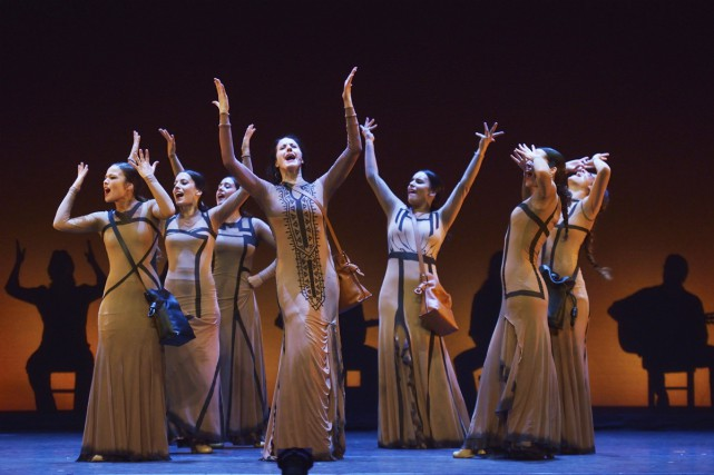 Dans son spectacleYo, Carmen, la chorégraphe María Pagés... (PHOTO FOURNIE PAR DANSE DANSE)