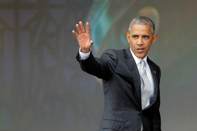 Le président américain, Barack Obama... (Photo Joshua Roberts, REUTERS)
