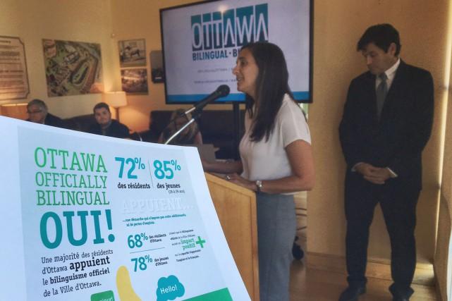 Ottawa Bilingue espère rallier une majorité de conseillers... (Patrick Woodbury, LeDroit)