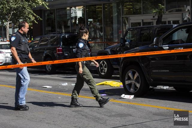 La victime n'a pas survécu à ses blessures.... (PHOTO OLIVIER PONTBRIAND, ARCHIVES LA PRESSE)